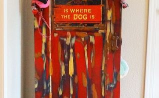this repurposed door is all about that pooch, doors, how to, pets animals, repurposing upcycling