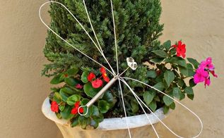 turn a whisk into dragonfly garden art, crafts, gardening, how to, repurposing upcycling