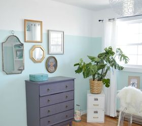 A Floor To Ceiling Diy Office Makeover, Bedroom Ideas, Home Office,  Painting,