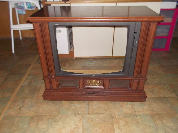 tv console to pet bed, painted furniture, pets animals, repurposing upcycling