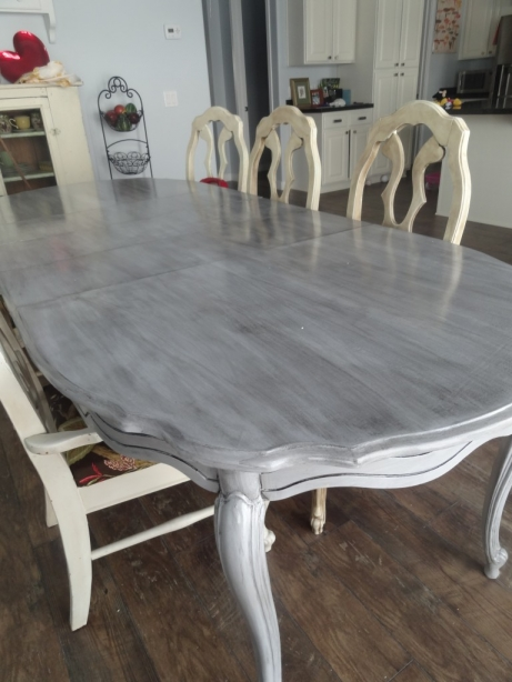 How to Refinish a Kitchen Table Re-Do | Hometalk