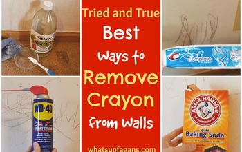 How to Remove Crayon From Walls - 7 Methods That Work and 4 That Don't