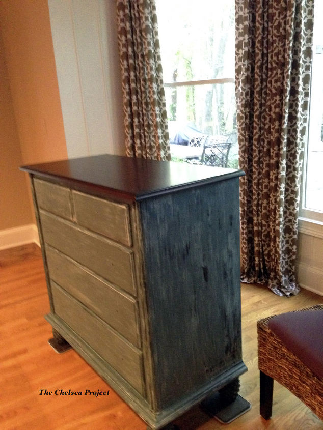 tv cabinet turned kitchen cabinet 30dayflip, painted furniture, repurposing upcycling