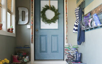 Creating A Mudroom
