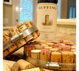 diy wine cork hot pads crafts how