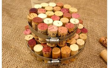 diy wine cork hot pads, crafts, how to, repurposing upcycling