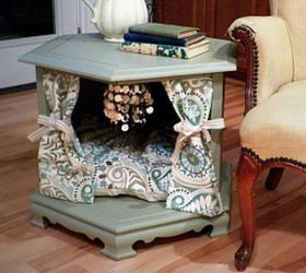 Dog Bed Made Out Of End Table Table Designs