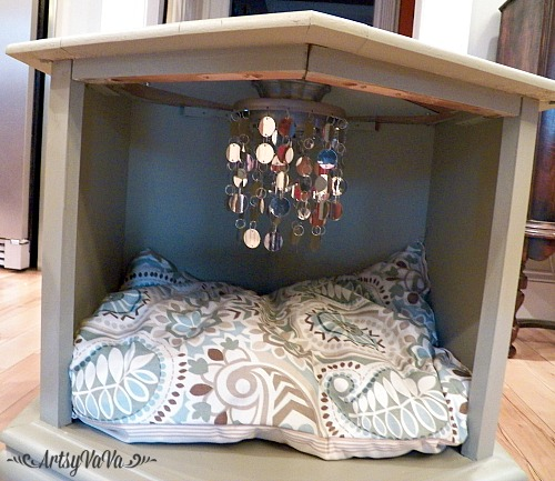 the posh pet bed, chalk paint, painted furniture, pets animals, repurposing upcycling