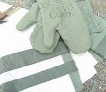 combat kitchen linen fatigue, crafts, kitchen design, repurposing upcycling