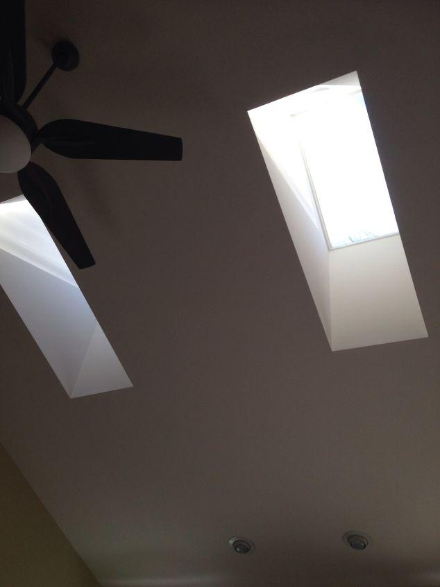q dark skylights, home improvement, wall decor, Deep skylights About 30