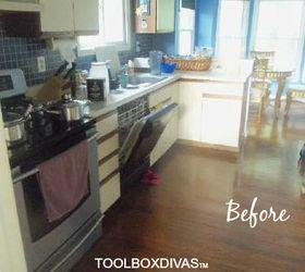 $900 Bright DIY Kitchen Update