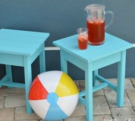 Build An Adirondack Patio Table, Diy, How To, Outdoor Furniture, Painted  Furniture ...