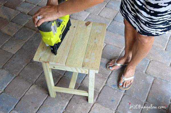 build an adirondack patio table, diy, how to, outdoor furniture, painted furniture, woodworking projects