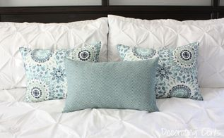 diy placemat pillows, crafts, how to, repurposing upcycling, reupholster
