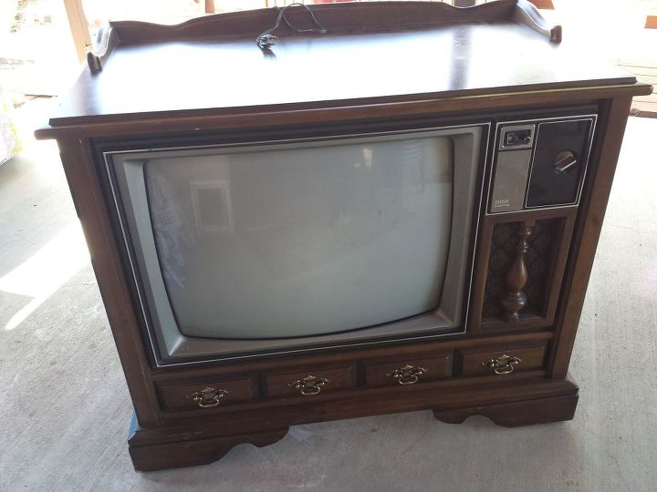 ... Vintage Tv Cabinet Turned Dog Bed Hometalk ... - Antique Tv Cabinets With Doors Choice Image - Doors Design Modern