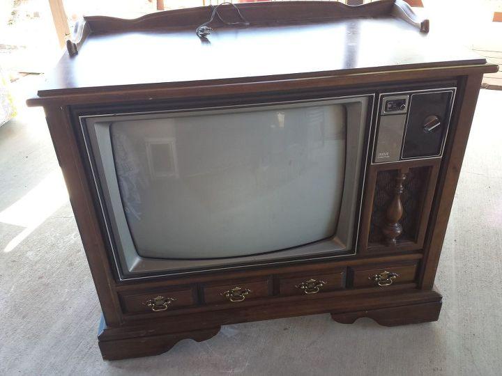 Vintage Tv Cabinet Turned Dog Bed Hometalk