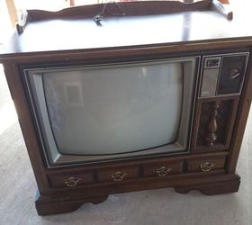 Vintage Tv Cabinet Turned Dog Bed, Painted Furniture, Pets Animals,  Repurposing Upcycling