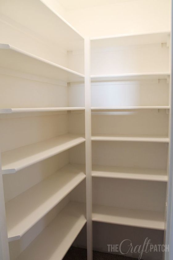pantry sawdust shelves floating girl shelf in corner