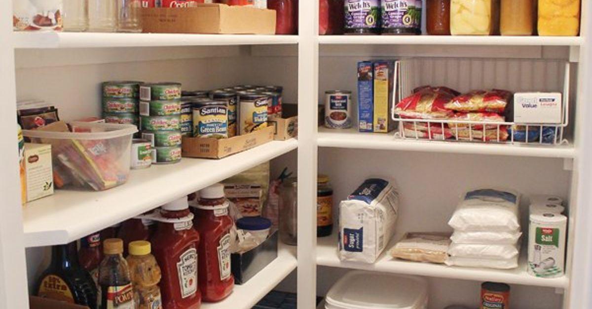 How To Build Pantry Shelves Hometalk