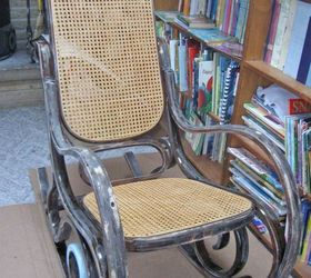 Attrayant A Shabby Chic Rocker With A Twist, Chalk Paint, Painted Furniture,  Repurposing Upcycling