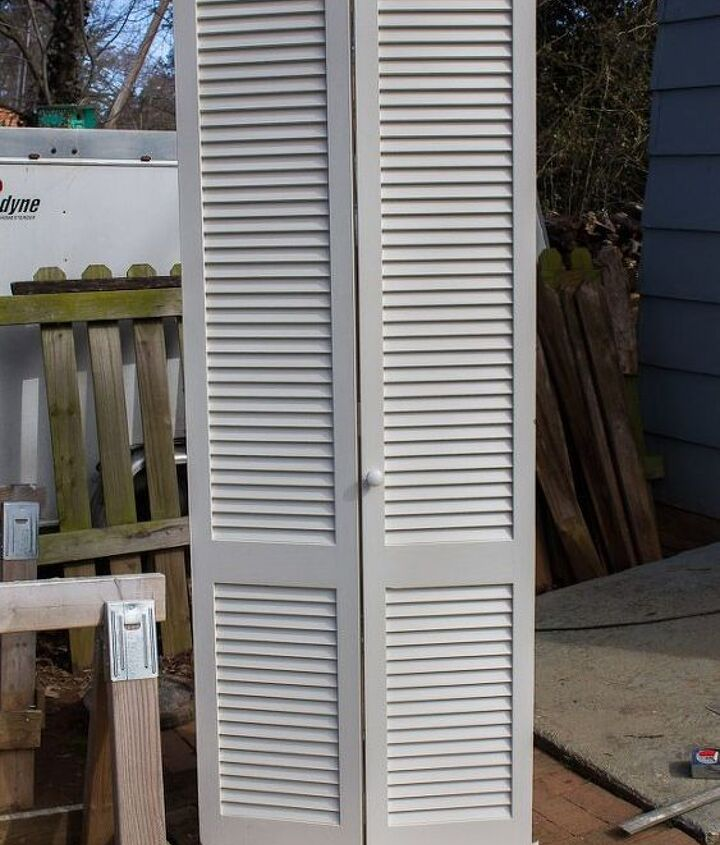 what can you make with an old closet door see what this diyer made, bedroom ideas, doors, repurposing upcycling