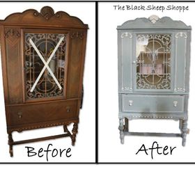 How To Antique Paint A China Cabinet | Nrtradiant.com