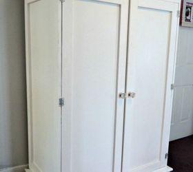 Diy Armoire, Closet, Diy, Painted Furniture