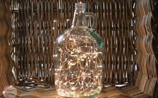 growler fairy lamp great upcycle project, crafts, how to, lighting, repurposing upcycling