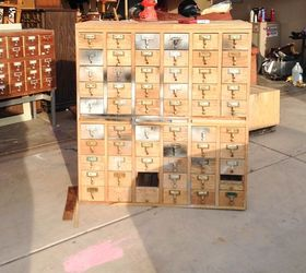 Attractive Rescuing A Craigslist Card Catalog, Painted Furniture, Repurposing  Upcycling, Rustic Furniture