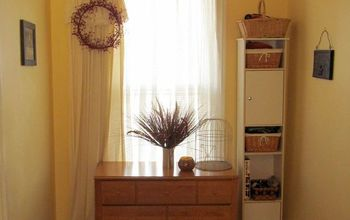 no linen closet no problem, storage ideas, window treatments