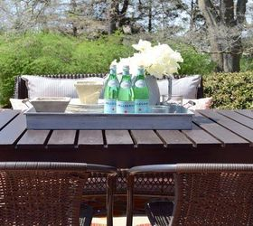 Diy Patio Table, Diy, How To, Outdoor Furniture, Outdoor Living, Painted