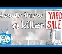 how to throw a killer yard sale