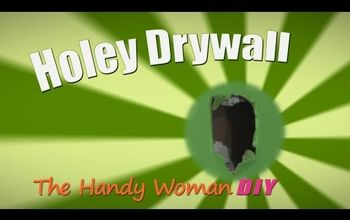 How to Patch Holey Drywall - HWDIY