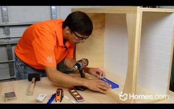 Build a Kitchen Island Custom Bookcase!