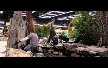 display garden creation video northwest flower garden show, ponds water features