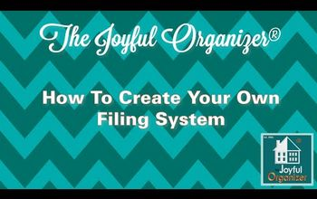 How to Create Your Own Filing System