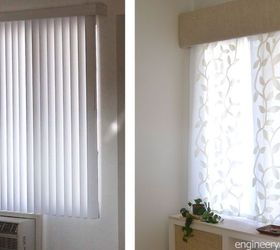 how to replace vertical blinds with curtains in minutes how to window treatments