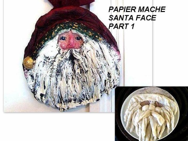Santa Craft: DIY Paper Mache Project - Darice   540x720