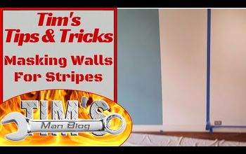 Tips and Tricks: Masking Walls for Stripes, Faux Finishes, or Accents