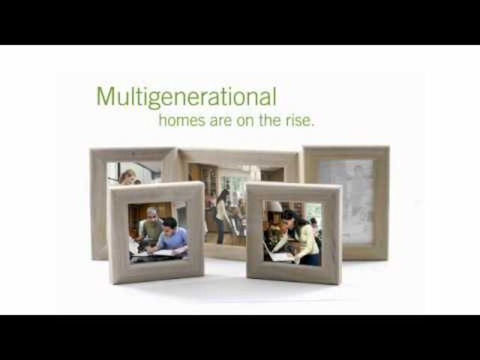 what s the biggest remodeling trend for 2012 multi generational homes, home improvement, The GenShift research brings to light generational differences in design and function that even many