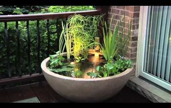 diy patio pond enjoy the lifestyle, gardening, patio, ponds water features, the Aquascape Patio Pond get your feet wet