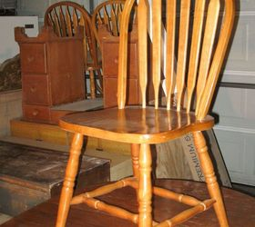 Charming Outdated 1980 S Dining Set Gets Farmhouse Makeover, Chalk Paint, Painted  Furniture