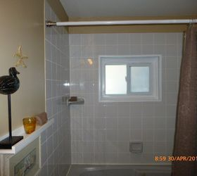 Q Bathroom Window Privacy, Bathroom Ideas, Window Treatments, Windows