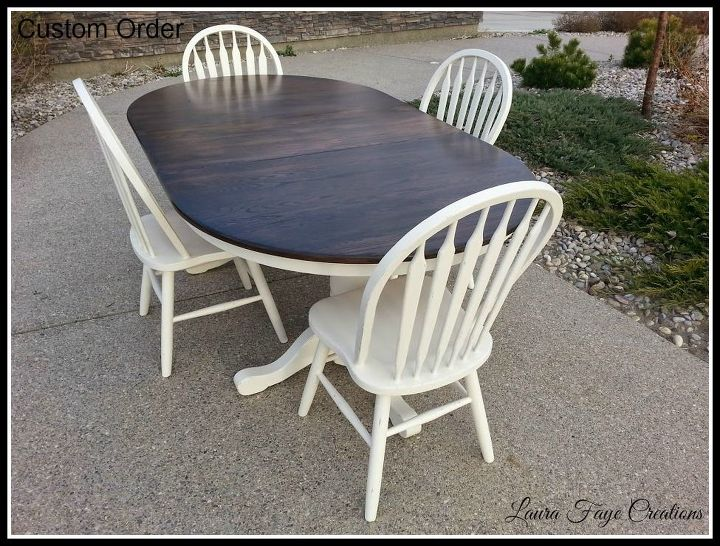Dining Room Table Set in Spanish Oak and Limestone | Hometalk
