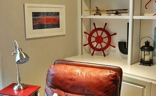 nautical themed boys bedroom, bedroom ideas, repurposing upcycling, wall decor
