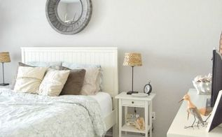 a coastal guest bedroom, bedroom ideas