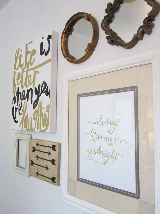 budget gallery wall, crafts, how to, wall decor