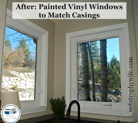 The Easy Way To Paint Vinyl Windows, Painting, Windows