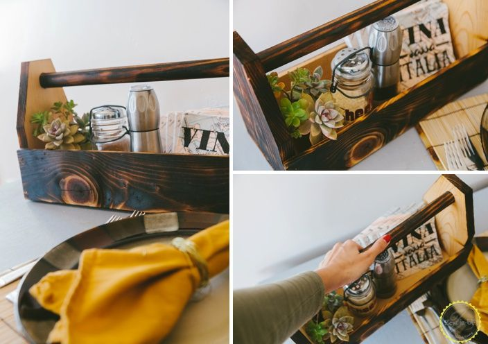 Diy Dining Table Organizer Crafts Room Ideas How To Organizing