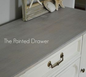 A Thift Store Dresser Gets A Beach Chic Makeover, Painted Furniture